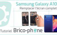 Tutoriel Samsung Galaxy A10 : changer l'écran complet (vitre + LCD pré-montés sur châssis)