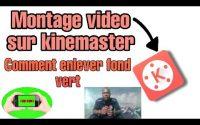 Tutoriel comment faire une vidéo sur fond vert- les astuces de tournage avc kinemaster 💡🌟
