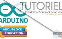 Tutoriel installation ardublock education