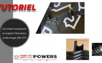 Tutoriel re-fabrication support faisceaux allumage 205 GTI