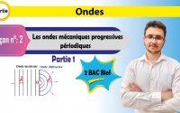 2 Bac Biof - Ondes - Leçon 2 - Les ondes mécaniques progressives périodiques (partie1)