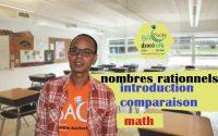 2ème collège / leçon 2 : nombres rationnels : introduction et comparaison