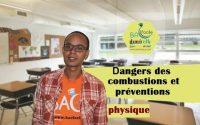 2ème collège / leçon 5 : dangers des combustions et préventions
