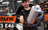 Changer un filtre à carburant sur BMW 3 (E46) [TUTORIEL AUTODOC]