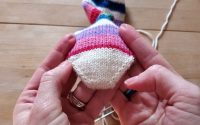 Chaussettes Toe-Up - Leçon 2 - Les orteils et le pied