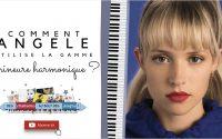 """Comment Angèle utilise la gamme mineure harmonique dans """"J'entends"""" ? Piano tutoriel facile"""