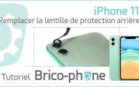 Comment changer la lentille de protection arrière de l'iPhone 11 ? Tutoriel (démontage et remontage)