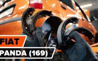 Comment remplacer des mâchoires de frein arrière sur FIAT PANDA (169) [TUTORIEL AUTODOC]
