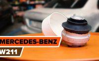Comment remplacer des support moteur sur MERCEDES-BENZ W211 Classe E [TUTORIEL AUTODOC]