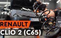 Comment remplacer ressort de suspension avant sur RENAULT CLIO 2 (C65) [TUTORIEL AUTODOC]