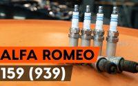 Comment remplacer un bougie d'allumage sur ALFA ROMEO 159 (939) [TUTORIEL AUTODOC]