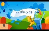 Cours d'arabe : Lexique 18 : Apprendre le vocabulaire de quelques antonymes en arabe معجم الأضداد