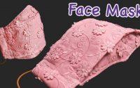 DIY Mask | Mask 3D | Sewing Mask Tutorial | Nähmaske Tutorial | Tutoriel de couture de masque facial