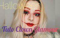 Devenir un Clown, mais glamour ! // tutoriel Halloween facile