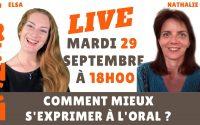 Direct : Comment progresser à l'oral ? Mieux parler en français ? Leçon de français en direct