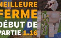 FERME À FER 1.16 Automatique, Facile et Efficace en Survie - Tutoriel Redstone Minecraft
