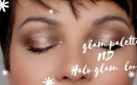 Glam palette Natasha Denona | Halo glam look | tutoriel makeup / 5th look #glampalette #haloeye