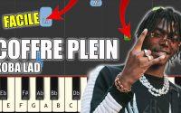 Koba LaD - Coffre plein   Vidéo Piano Tutoriel Facile Instrumental RAP (Piano Facile France)