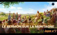 LE SERMON SUR LA MONTAGNE - leçon n°1