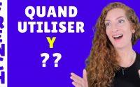 Le pronom Y après les verbes qui ont la préposition à - Leçon de français