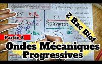 🔥🔥Leçon 1 : Les Ondes Mécaniques Progressives 🔻 Partie 2 🔻 2 Bac Physique BIOF 🔻