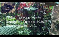 Leçon 1 : Vendredi 2 Octobre 2020, Pour aller plus loin...