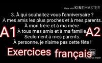 Leçon 146 : DELF A2 - Exercices niveau intermédiaire A2 - Learn french in pashto - فرانسوی زده کره