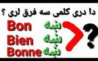 Leçon 161 : Bien ou Bon en Français - Bien vs Bon in French - Learn French in Pashto