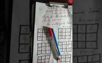 Leçon 25 le carré ghazali en fonction des 7 jours de la semaine par maître Toure