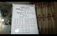 Leçon 33 carré magique de la forme 3x4 par maître Toure