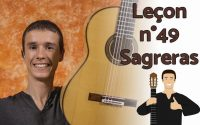 Leçon de guitare (arpège débutant - intermédiaire) - Julio Salvador Sagreras n°49