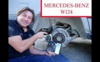 Mercedes W124 - Comment changer les machoires de frein á main Tutoriel