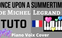 Once Upon a Summertime : Tutoriel Piano Voix Cover