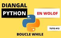 Python Tutoriel n.13 | BOUCLE  WHILE | BabaScience SN.