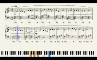 Qui peut faire de la voile sans vent, Tutoriel & partition de piano (tutorial and piano sheet music)