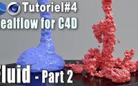 Realflow for C4d - TUTORIEL #4 - Fluid part 2