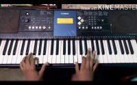 Sebene piano tutoriel joué la basse et la solo