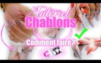 TUTORIEL CHABLONS (GEL) : ÉTAPE PAR ÉTAPE (LE BOMBÉ, LE LIMAGE...) Je t'explique tout !