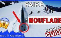 TUTORIEL SECOURS CREVASSE: FAIRE UN MOUFLAGE - ÉCOLE DE GLACE #3