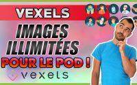 TUTORIEL VEXELS - PRINT ON DEMAND FACILE de T-Shirts (AVIS)