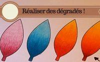 Tutoriel | Comment réaliser facilement des dégradés aux crayons de couleur ?