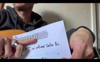 Tutoriel Guitare Acoustique Don't Think Twice De Bob Dylan (A7)