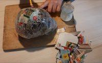 Tutoriel Réaliser une calavera avec du papier   Tutorial Realizar una calavera con papel