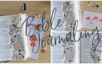 Tutoriel de Bible Journaling - Thanksgiving