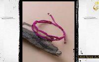 Tutoriel de bracelet en macramé ondulé || أسورة سهلة و بسيطة بالمكرامي و العقيق