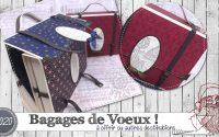"""[Tutoriel] """"Bagage de Voeux"""" par Coul'Heure Papier"""