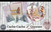 """[Tutoriel] """"Cache-cache chez les Gnomes * Carte Pop Up"""" par Coul'Heure Papier"""