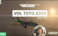 Vol tutoriel A320 Neo Flight Simulator 2020 - A32NX - LFML / LFLC (Marseille / Clermont Ferrand)