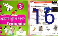 page 16 leçon i et b mes apprrentissages en français 3 AP