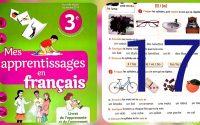 page 17 leçon l et o mes apprrentissages en français 3 AP